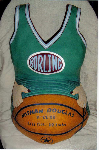 Basketball Jersey Belly Casting